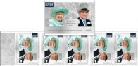AUS SG4704a Queen Elizabeth II's Birthday 2017 self-adhesive $14.75 booklet (SB570) pane